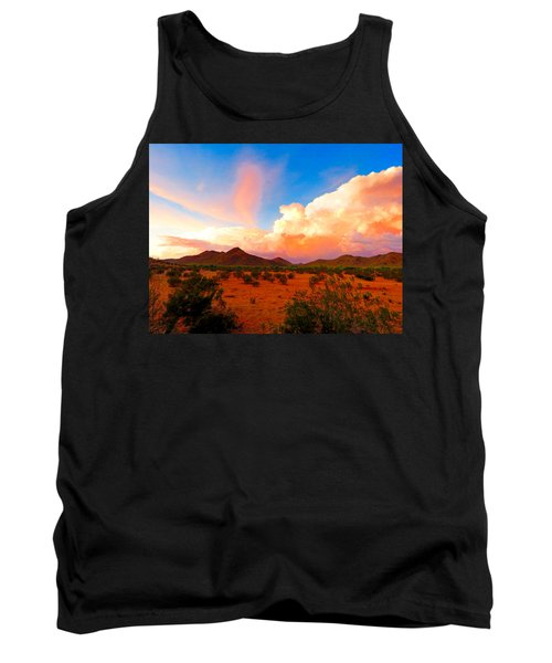 Monsoon Storm Sunset Tank Top