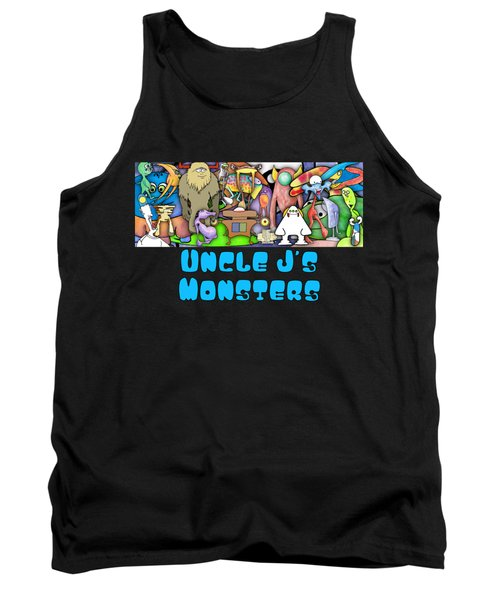 Monster Banner Tank Top by Uncle J's Monsters