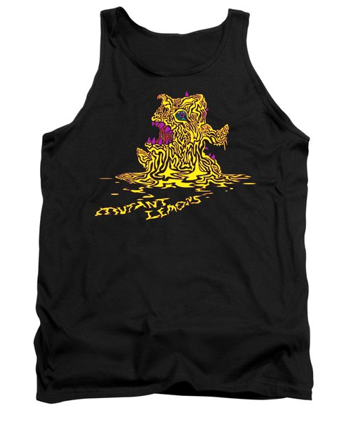 Monster Mutant Lemon Tank Top by Jordan Kotter
