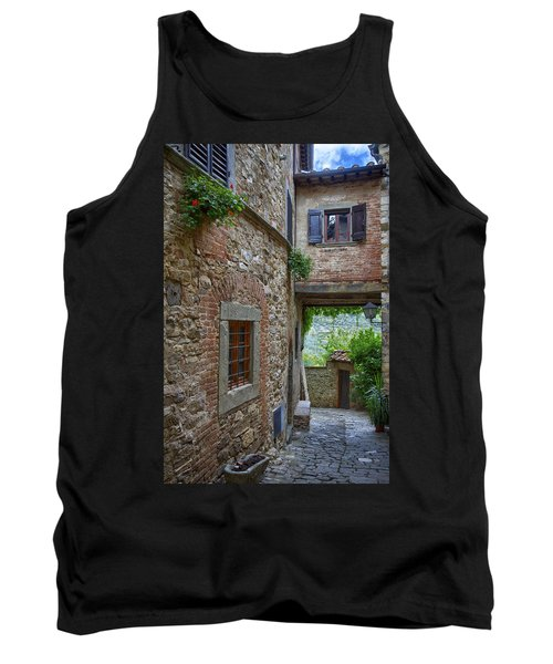 Montefioralle Tuscany 2 Tank Top