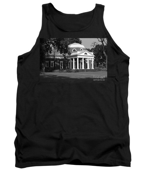 Tank Top featuring the photograph Monticello IIi by Eric Liller