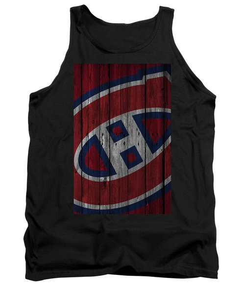 Montreal Canadiens Wood Fence Tank Top