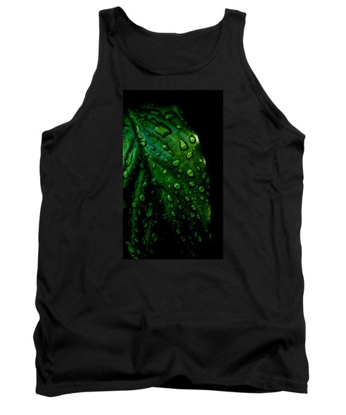 Moody Raindrops Tank Top by Parker Cunningham