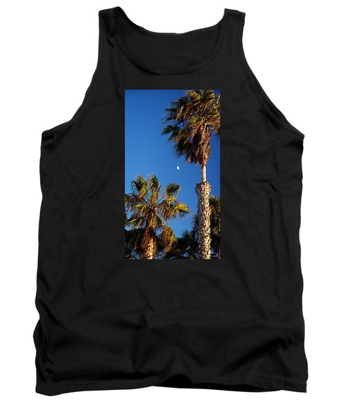 Moon And Palms Tank Top