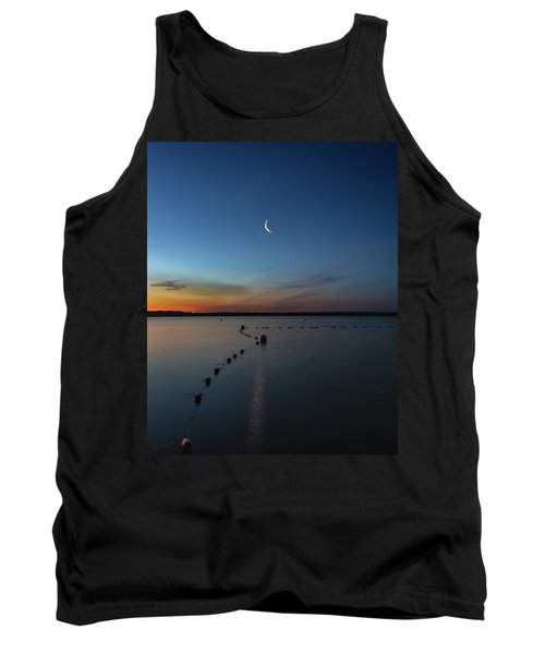 Moon Over Cayuga Tank Top