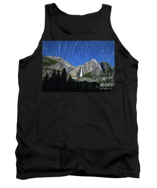Moonbow And Startrails  Tank Top