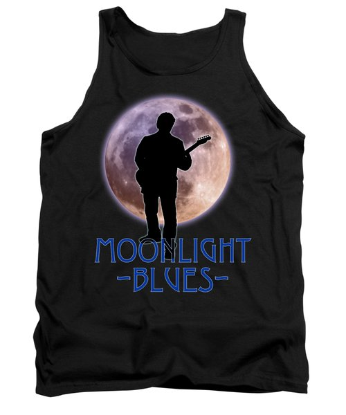Moonlight Blues Shirt Tank Top