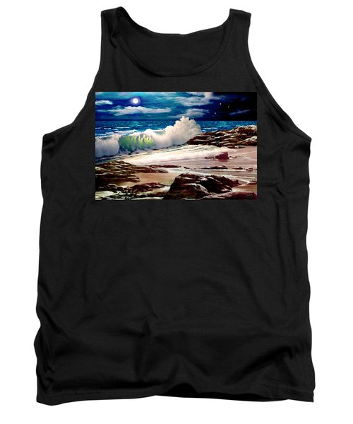 Moonlight On The Beach Tank Top