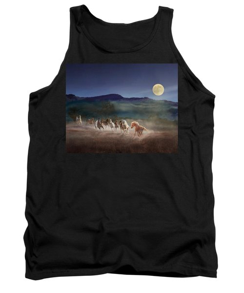 Moonlight Run Tank Top by Melinda Hughes-Berland