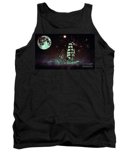 Moonlight Sailing Tank Top by Blair Stuart