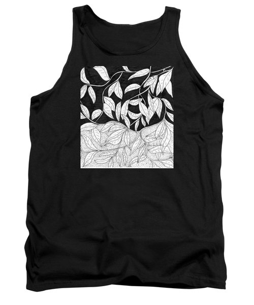 More Leaves Tank Top by Lou Belcher
