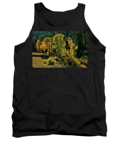 Morning Cottonwoods Tank Top