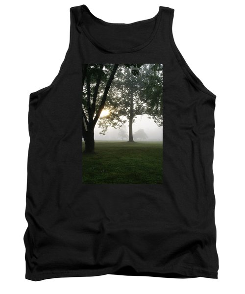 Tank Top featuring the photograph Morning Fog by Heidi Poulin