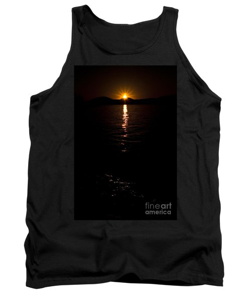 Tank Top featuring the photograph Morning Has Broken by Tamyra Ayles