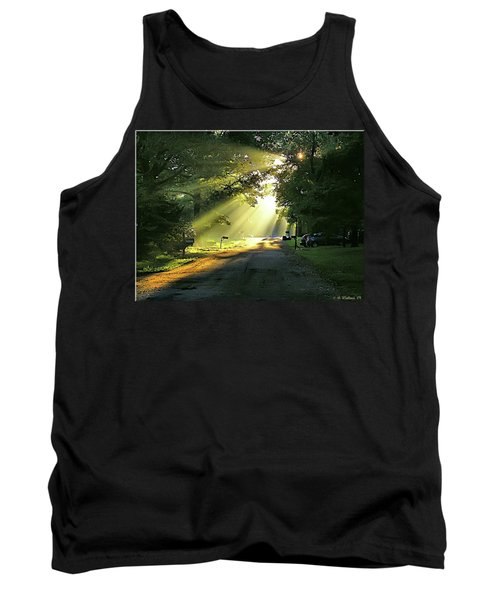 Tank Top featuring the photograph Morning Light by Brian Wallace