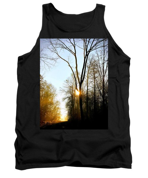 Morning Mood In The Forest Tank Top