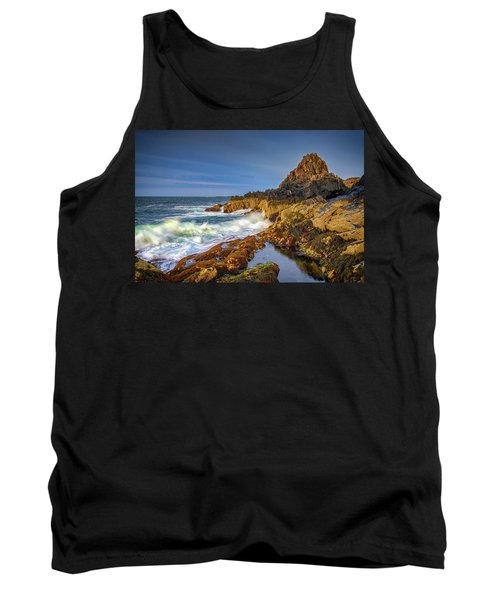 Tank Top featuring the photograph Morning On Bailey Island by Rick Berk
