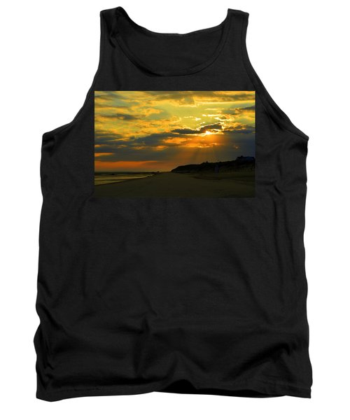 Morning Rays Over Cape Cod Tank Top