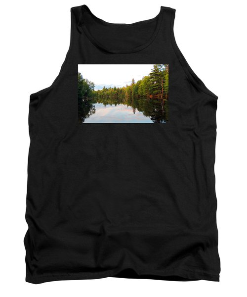 Morning Reflection Tank Top by Teresa Schomig
