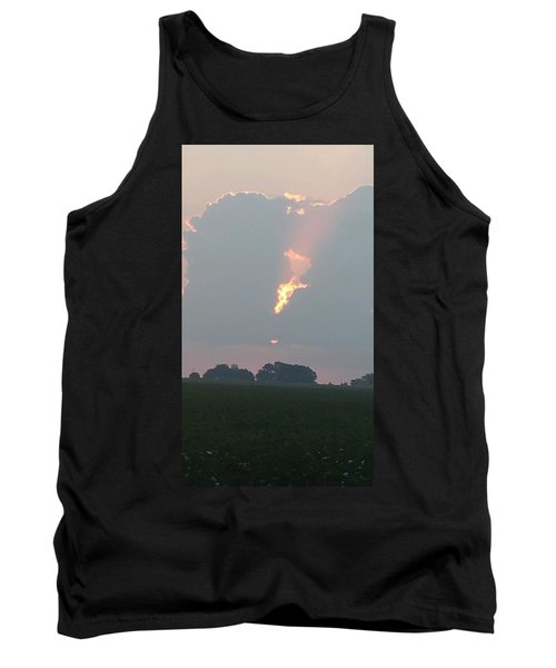 Morning Sky On Fire Tank Top