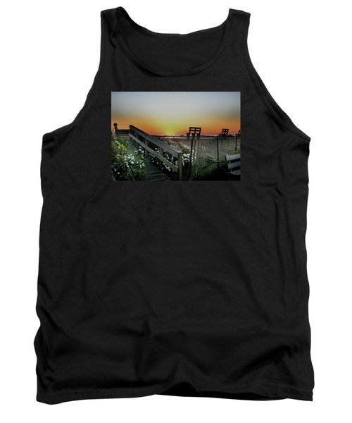 Morning View  Tank Top by Skip Willits