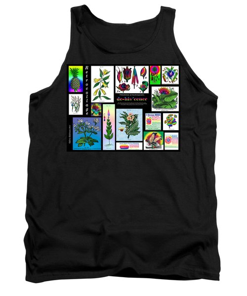 Mosaic Of Retrocollage II Tank Top