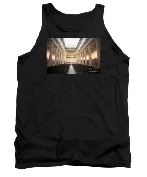 Moscow Consert Hall Tank Top by Ted Pollard