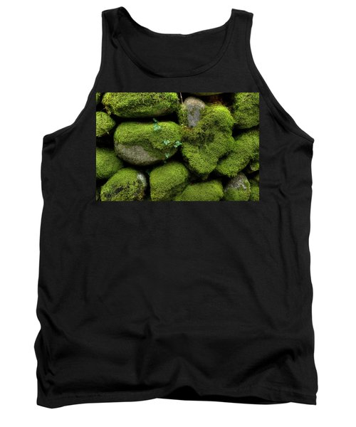 Tank Top featuring the photograph Moss And Ivy by Mike Eingle