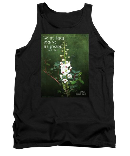 Tank Top featuring the photograph Moth Mullein by Gena Weiser