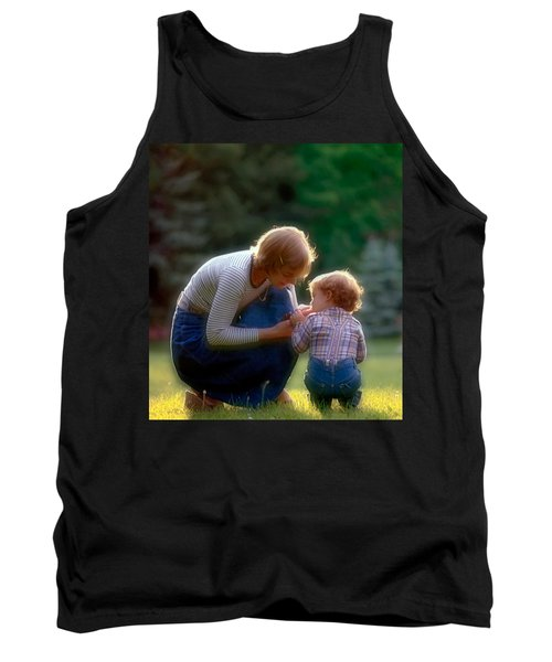 Mother With Kid Tank Top