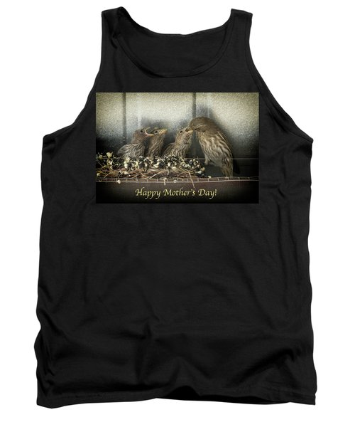 Tank Top featuring the photograph Mother's Day Greetings by Alan Toepfer