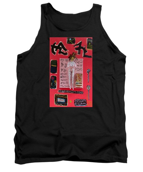 Motherwort Herbal Tincture Tank Top by Clarity Artists