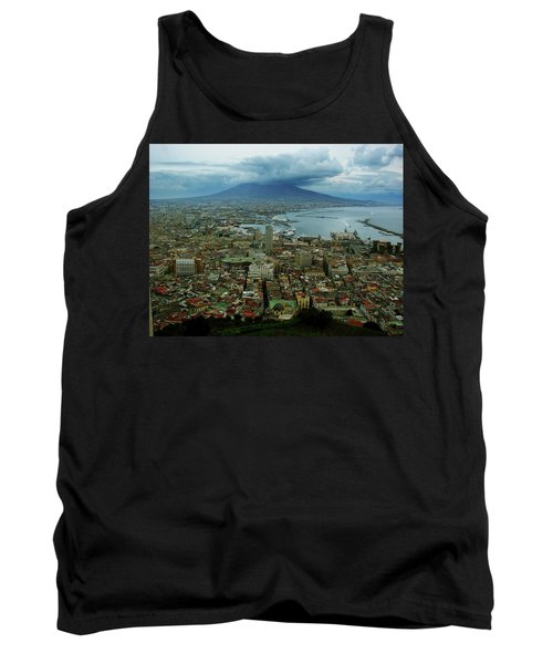 Mount Vesuvius Naples It Tank Top