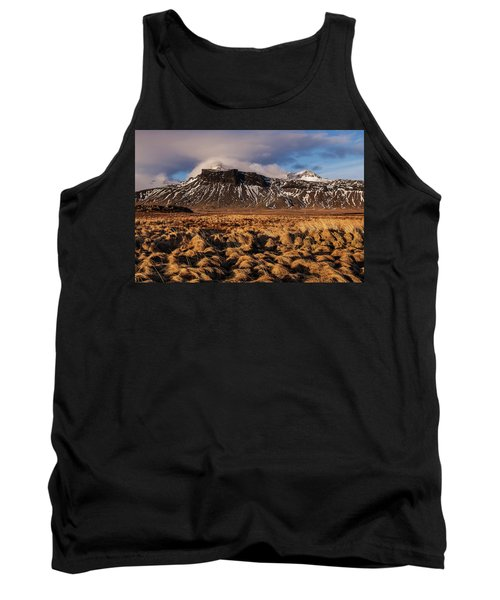 Mountain And Land, Iceland Tank Top