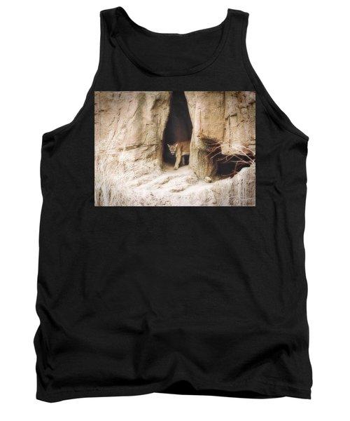Mountain Lion - Light Tank Top