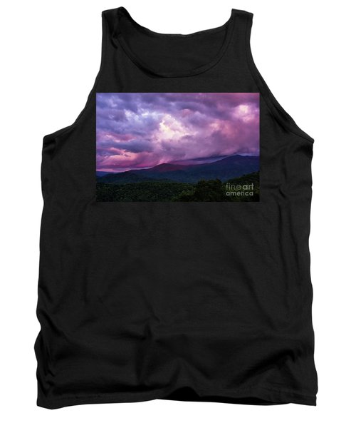 Mountain Sunset In The East Tank Top
