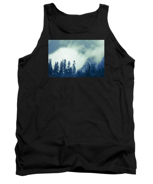 Mountains And Fog Tank Top by Michele Cornelius