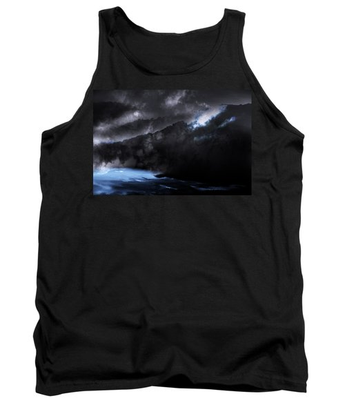 Mountains Of The Blue Ridge Tank Top by Gray  Artus