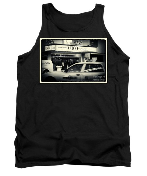 Movie Theatre Paris In New York City Tank Top by Sabine Jacobs
