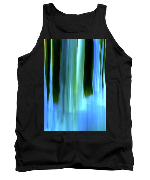 Moving Trees 37-05 Portrait Format Tank Top