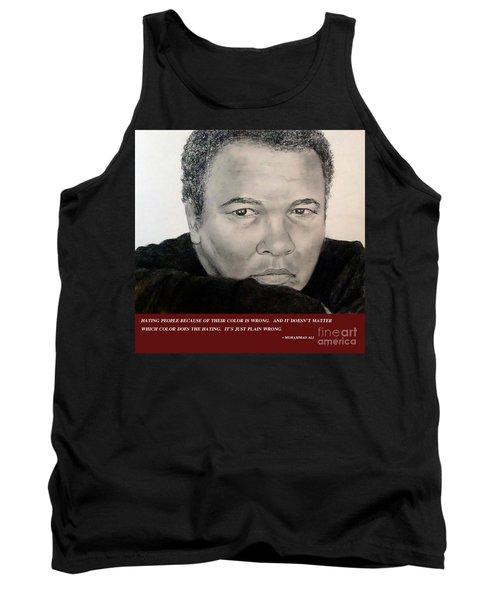 Muhammad Ali On Hating  Tank Top