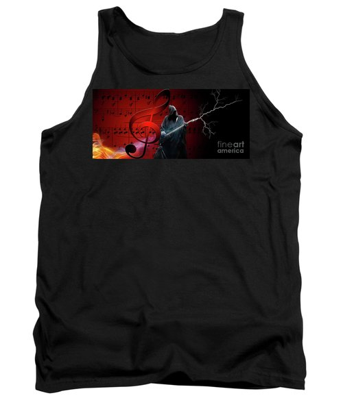 Music To Die For Tank Top