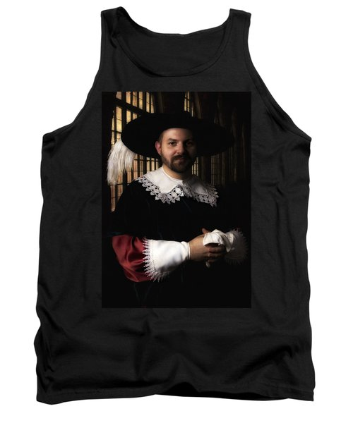Musketeer In The Old Castle Hall Tank Top