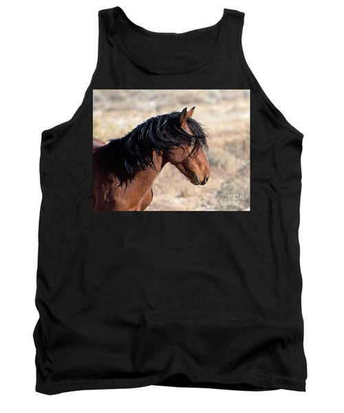 Tank Top featuring the photograph Mustang by Lula Adams