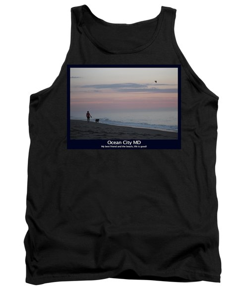 My Best Friend And The Beach Tank Top