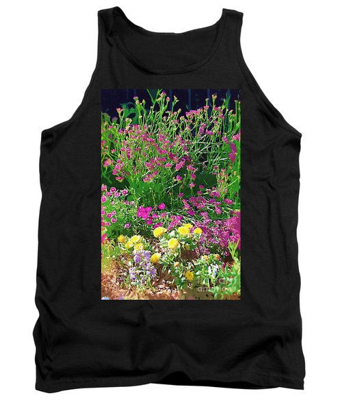 Tank Top featuring the photograph My Garden   by Donna Bentley