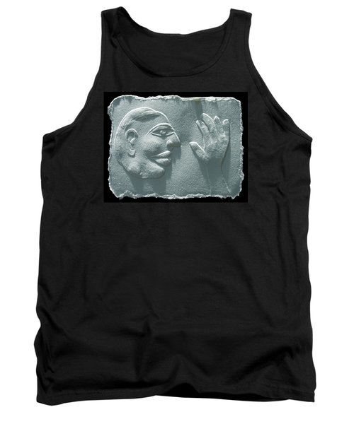 Tank Top featuring the relief My Hand by Suhas Tavkar