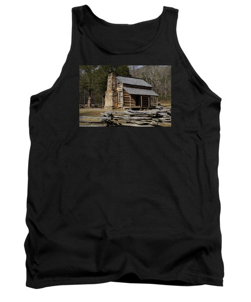 Tank Top featuring the photograph My Mountain Home by B Wayne Mullins