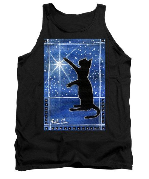 My Shinning Star - Christmas Cat Tank Top