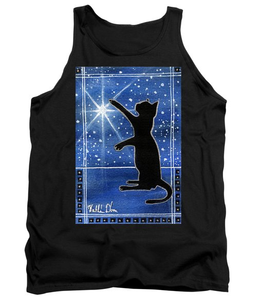 My Shinning Star - Christmas Cat Tank Top
